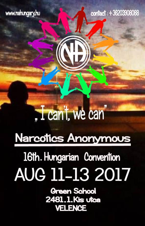 16.Országos NA találkozó 2017.08.11-13